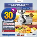 Jual Mesin Penepung Biji-Bijian, Bumbu dan Herbal (GRAIN GRINDER) di Palembang