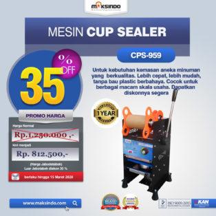 Jual Mesin Cup Sealer CPS-959 di Palembang