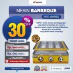 Jual Mesin Pemanggang Sate – BBQ 3 Tungku (Gas) MKS-369BBQ di Palembang