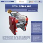 Jual Mesin Cetak Mie MKS-RED2000 di Palembang
