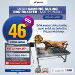 Jual Mesin Kambing Guling BBQ Roaster (GRILLO-LMB22) di Palembang
