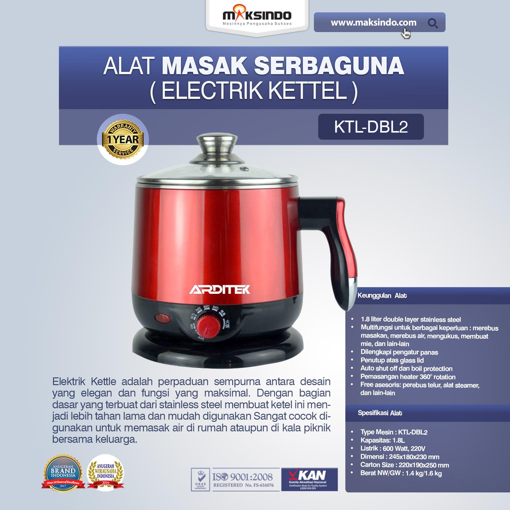 Jual Alat Masak Serbaguna (Electrik Kettel) di Palembang