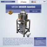 Jual Mesin Mixer Bakso MKS-MX2 di Palembang