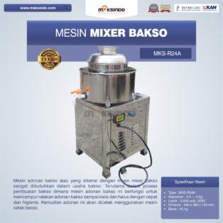 Jual Mesin Mixer Bakso MKS-R24A di Palembang