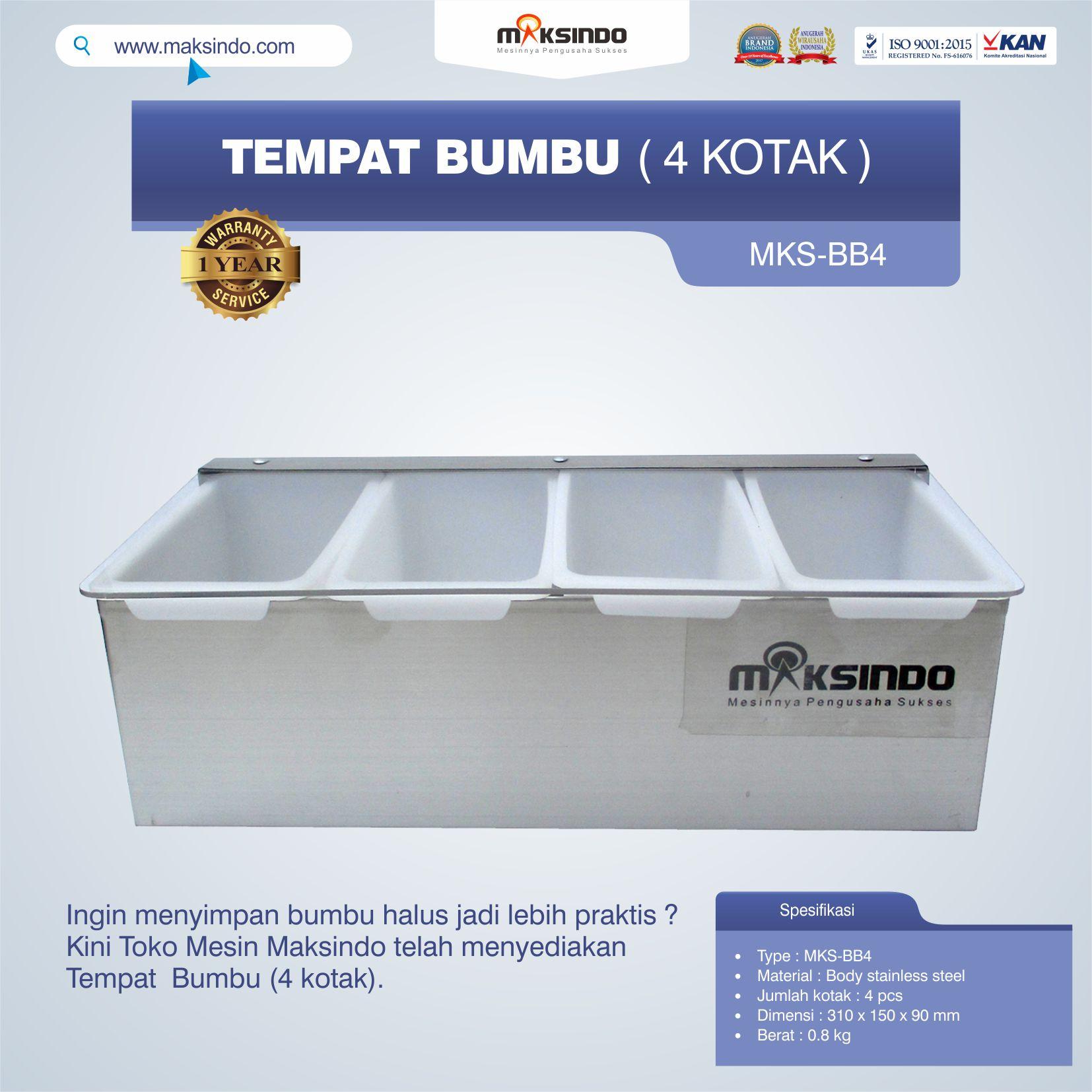 Jual Tempat Bumbu (4 kotak) di Palembang