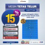 Jual Mesin Penetas Telur AGR-TT1320 Palembang