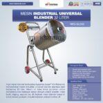 Jual Industrial Universal Blender 32 Liter di Palembang