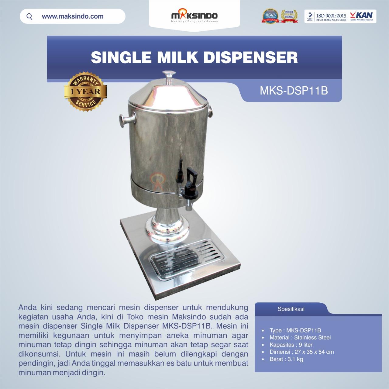 Jual Single Milk Dispenser MKS-DSP11B di Palembang