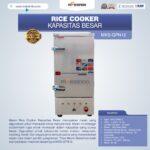 Jual Mesin Rice Cooker Kapasitas Besar MKS-GPN12 di Palembang