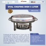 Jual Oval Chafing Dish 5 Liter di Palembang