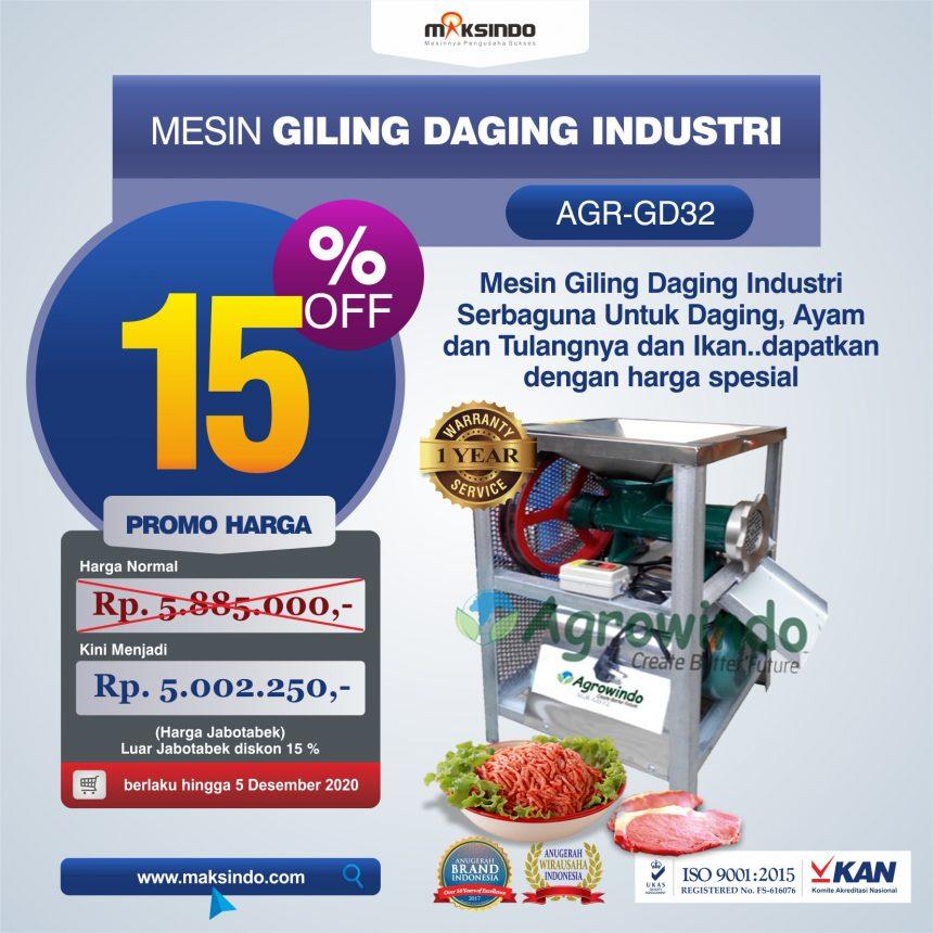 Jual Mesin Giling Daging Industri (AGR-GD32) di Palembang