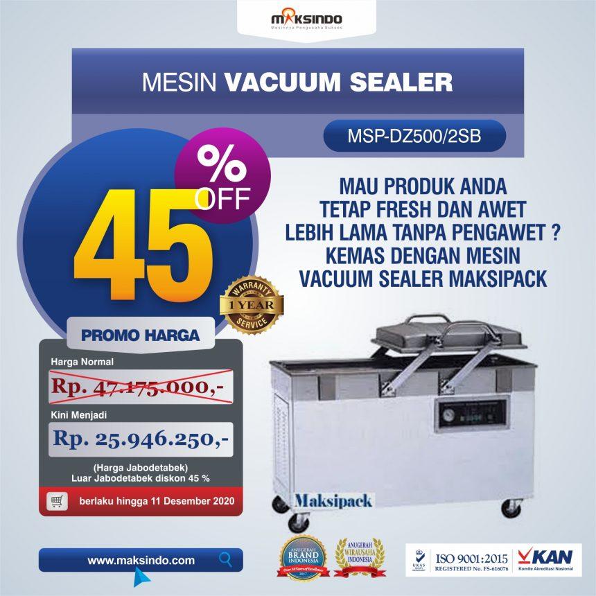 Jual Mesin Vacuum Sealer (DZ500/2SB) Di Palembang