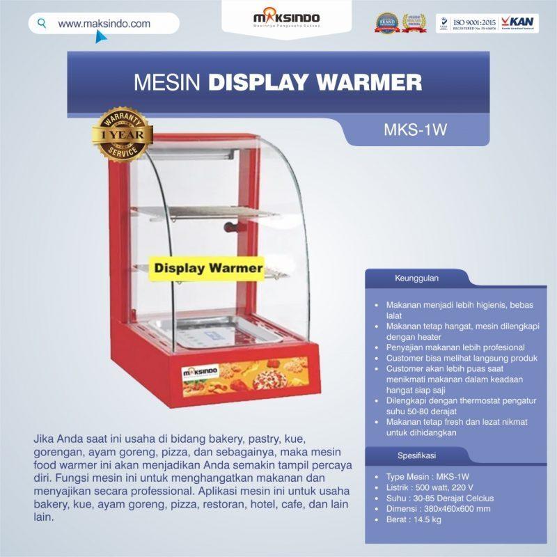 Mesin Display Warmer (MKS-1W)