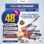 Jual Mesin Es Serut (Ice Crusher- MKS002) di Palembang