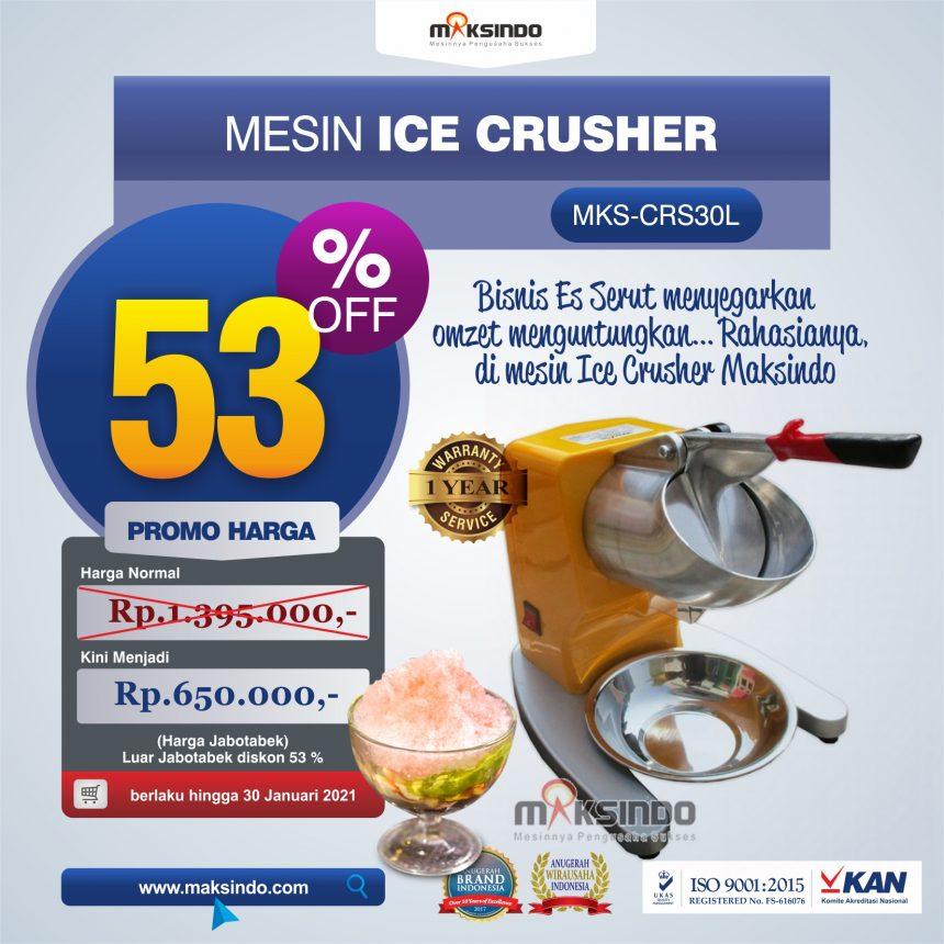Jual Mesin Ice Crusher MKS-CRS30L di Palembang