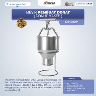Jual Mesin Pembuat Donat (Donut Maker) MKS-DN03 di Palembang