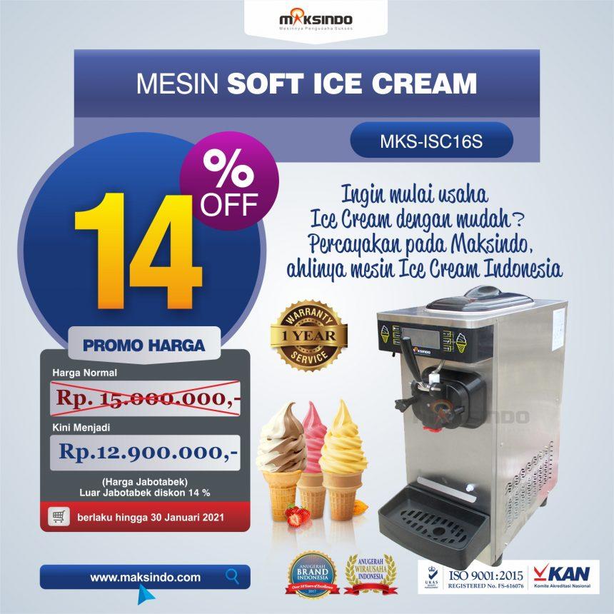 Jual Mesin Soft Ice Cream ISC-16S di Palembang