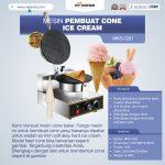 Jual Mesin Pembuat Cone Ice Cream (Cone Baker) MKS-CB1 di Palembang