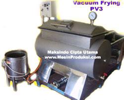 Jual Mesin Vacuum Frying 50 kg di Palembang