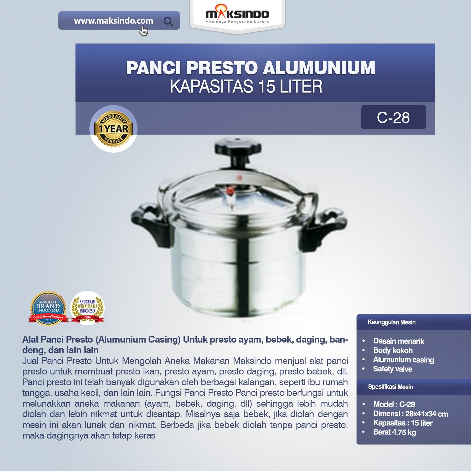 Jual Alat Panci Presto di Palembang