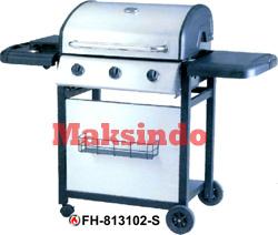 Jual Mesin Barbeku Gas Barbeque With Side Burner di Palembang
