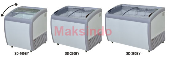 Jual Mesin Sliding Curve Glass Freezer di Palembang