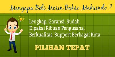 Jual Paket Mesin Pembuat Bakso Maksindo Terbaru di Palembang