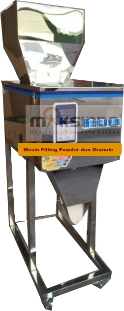 Jual Mesin Filling Tepung dan Biji (20-1200gr) di Palembang