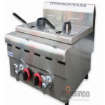 Jual Counter Top 2-Tank 2-Basket Gas Fryer di Palembang