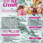Training Usaha Ice Cream dan Topping, Sabtu 11 Agustus 2018