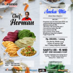 Training Usaha Aneka Mie Sabtu, 8 September 2018