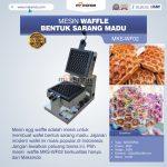 Jual Mesin Waffle Bentuk Sarang Madu MKS-WF02 di Palembang