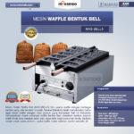Jual Mesin Waffle Bentuk Bell (MKS-BELL5) di Palembang