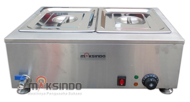 Jual Mesin Bain Marie Penghangat Makanan MKS-EBM22 di Palembang