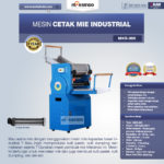 Jual Mesin Cetak Mie Industrial (MKS-300) di Palembang