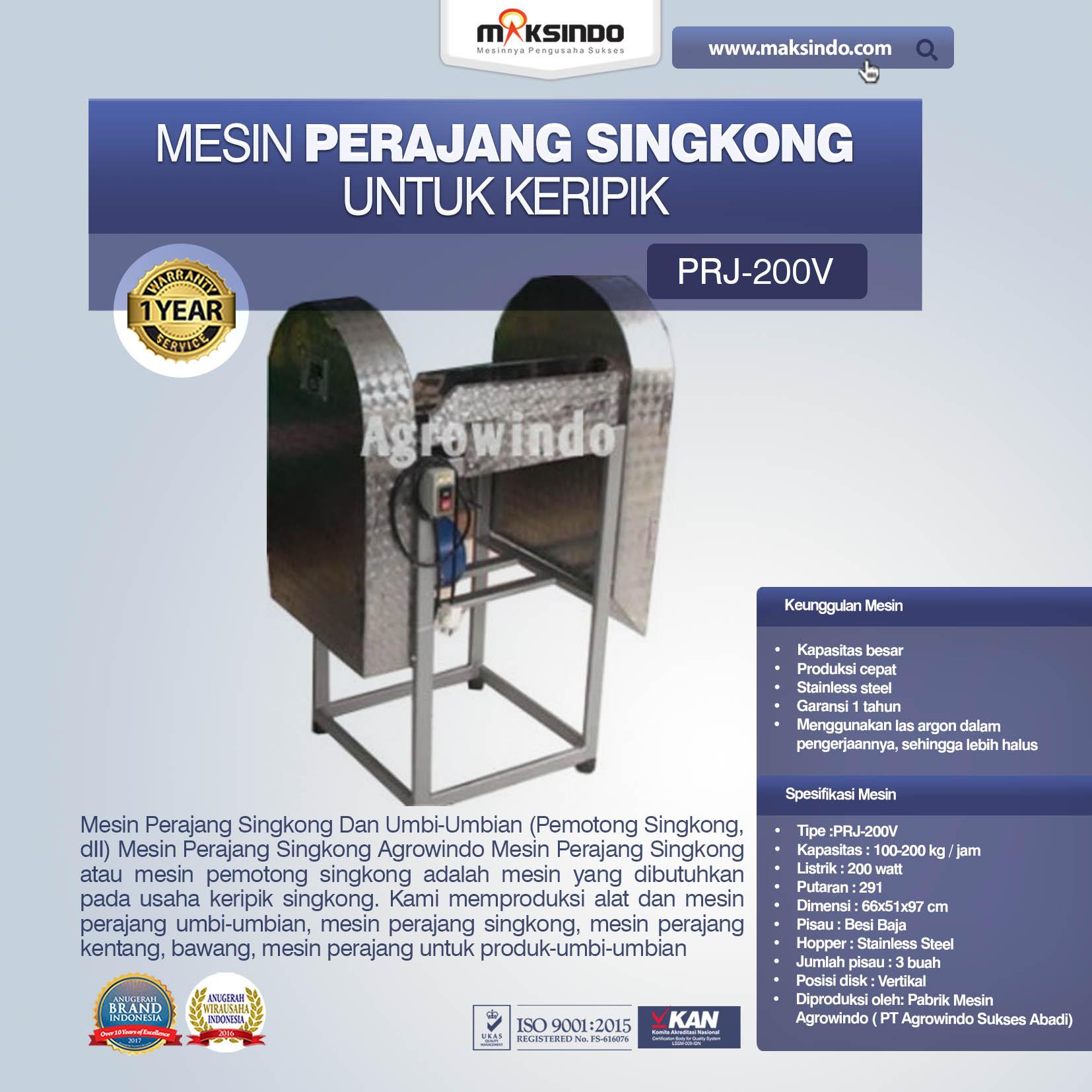 Jual Mesin Perajang Umbi-Umbian di Palembang
