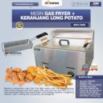 Jual Mesin Gas Fryer MKS-G20L + Keranjang di Palembang