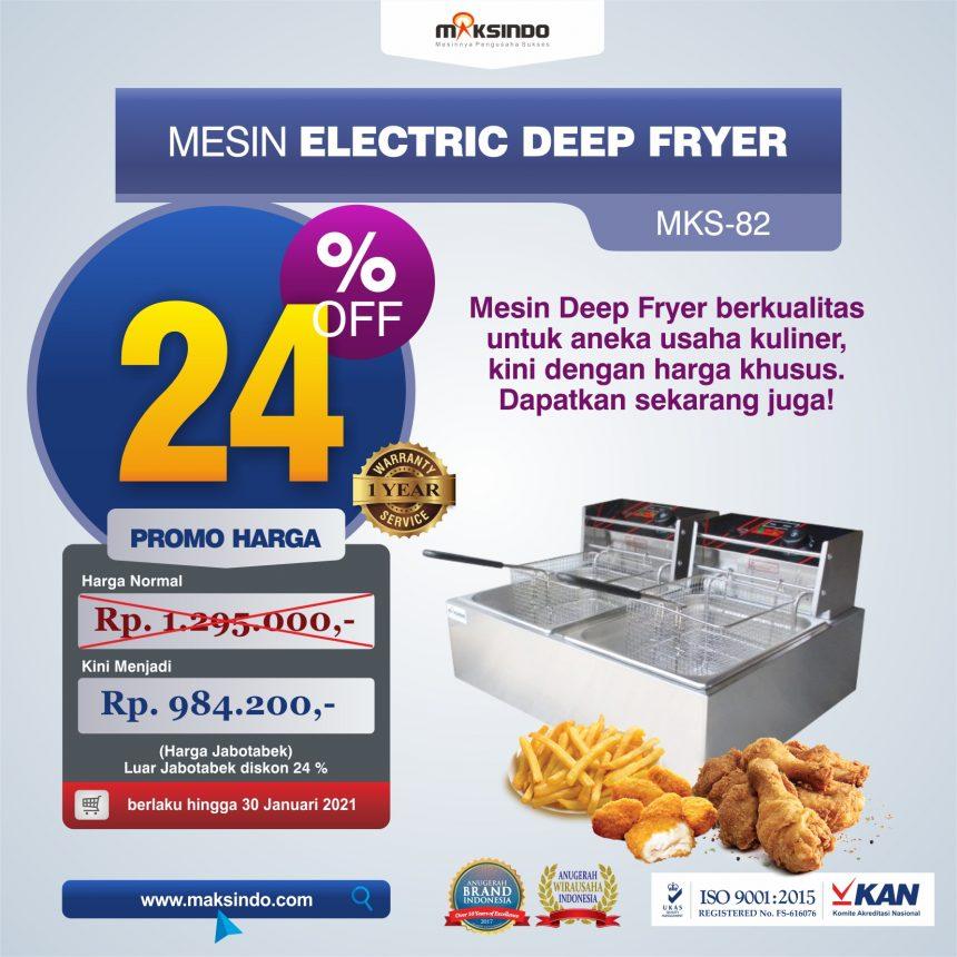 Jual Mesin Electric Deep Fryer MKS-82 di Palembang