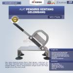 Jual Alat Pengiris Kentang Gelombang MKS-PS269 di Palembang