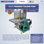 Jual Mesin Pemisah Tulang Ikan MKS-FISH200 di Palembang