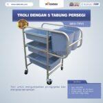 Jual Troli Dengan 5 Tabung Persegi MKS-TRY5 di Palembang