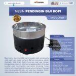 Jual Mesin Pendingin Biji Kopi MKS-CCF001 di Palembang