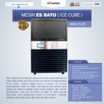 Jual Mesin Es Batu Ice Cube (ICU-75) di Palembang