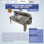 Jual Chafing Dish Oblong Roll Top – 9 Liter di Palembang