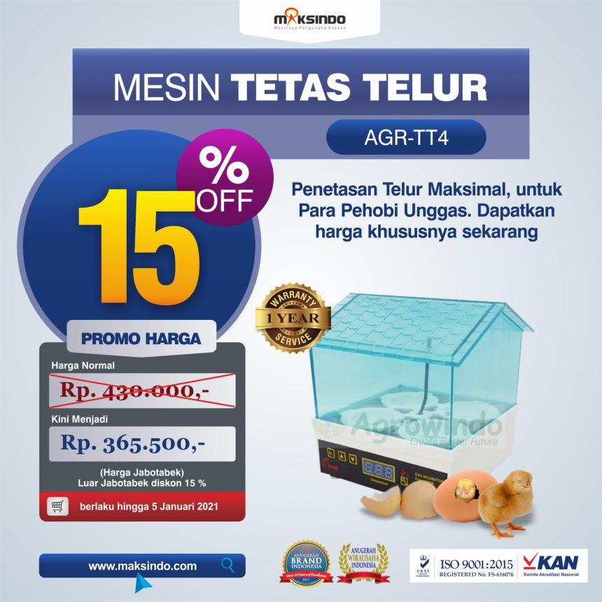 Jual Tetas Telur Mini 4 Butir (AGR-TT4) di Palembang