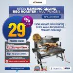 Jual Mesin Kambing Guling BBQ Roaster (GRILLO-LMB33) di Palembang