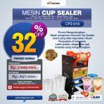 Jual Mesin Cup Sealer Manual (CPS-818) di Pelambang