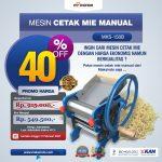 Jual Cetak Mie Manual Untuk Usaha (MKS-150B) di Palembang