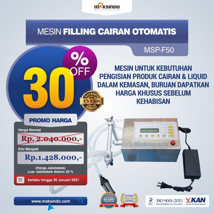 Jual Mesin Filling Cairan Otomatis di Palembang