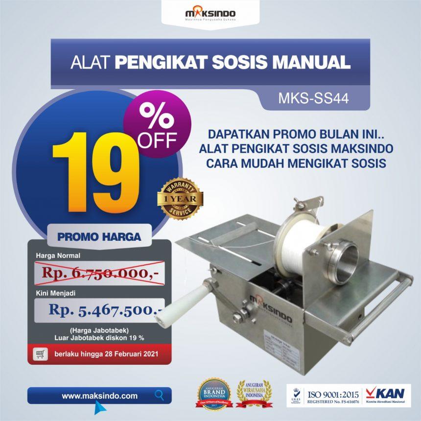 Jual Alat Pengikat Sosis Manual (MKS-SS44) di Palembang